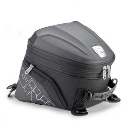 With a seat bag expandable...