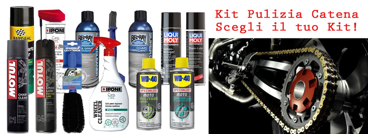 Chain clean & lube Kit